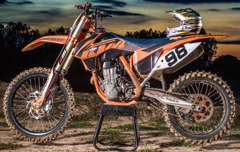 Dirt bike stand