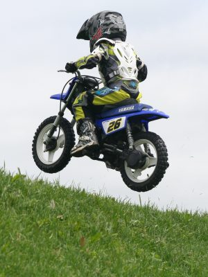 are dirt bikes safe for kids