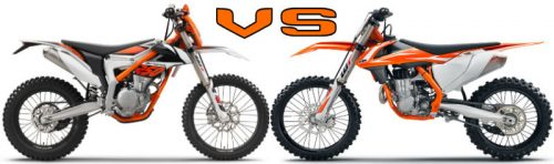 motocross vs enduro bikes