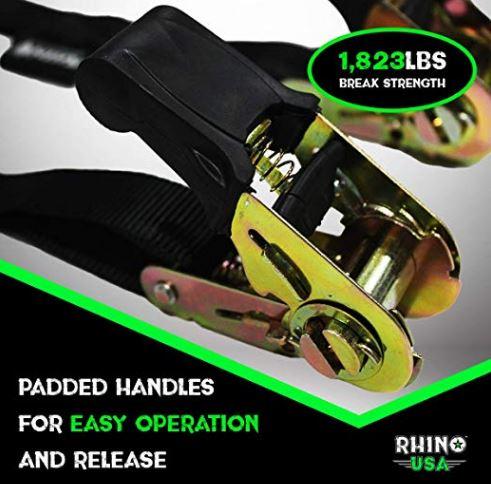 rhino tie down ratchet straps