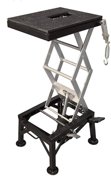 motorsport products scissor lift stand